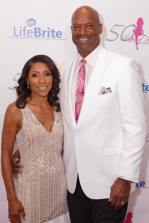 Dr. Jackie with husband Curtis Berry